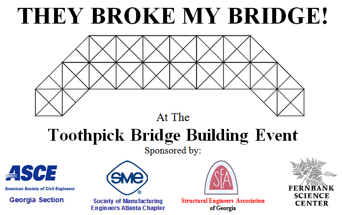 Toothpick Bridge Building Contest For Engineers Of All Ages Gifted Atlanta